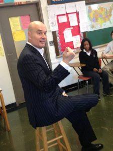 villa angela cleveland alumni Misny speaks to class