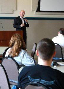 Tim Misny at MADD training in Northeastern Ohio