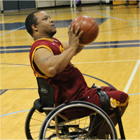 Cleveland wheelchair cavaliers tremayne smoot