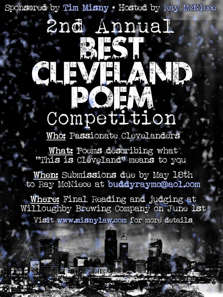 Best Cleveland Poem Competition Flyer
