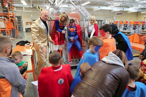 Tim Misny Super Heroes to Kids in Ohio