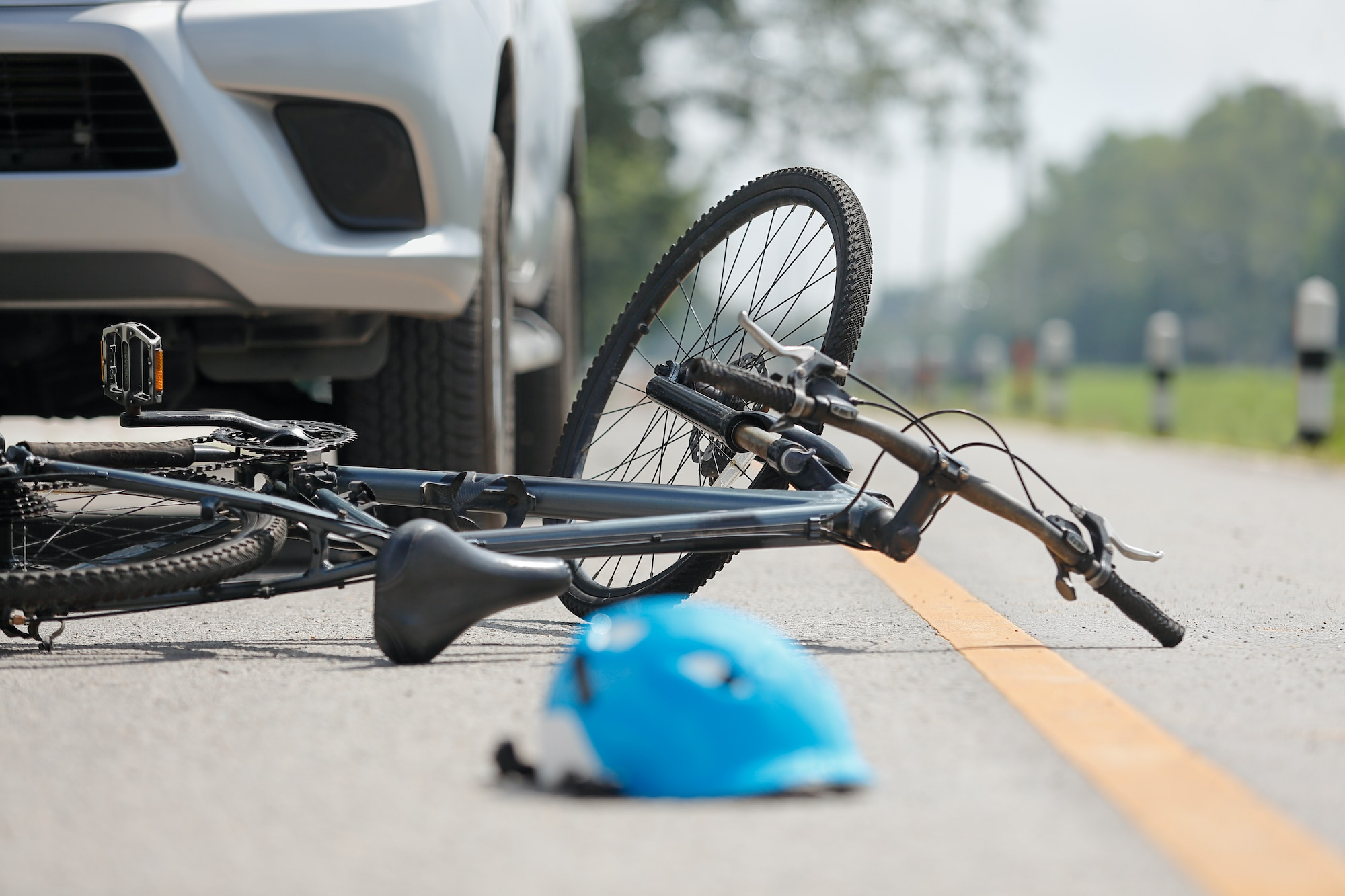 top causes of bicycle accidents